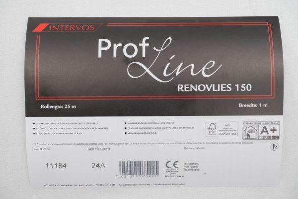 Prof line renovlies 150 intervos